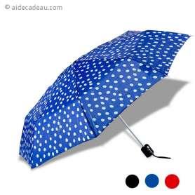 Parapluie avec tissu imperméable à pois