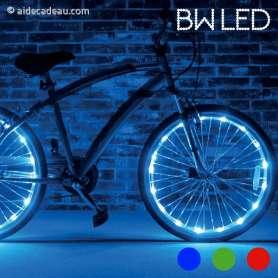 Tubes lumineux pour pneu de vélo