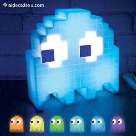 Lampe Usb Fantôme PacMan multicolore