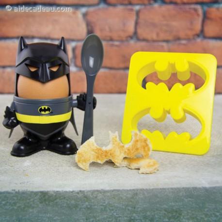 Kit coquetier Batman pour œufs à la coque