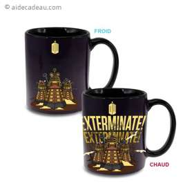 Mug Thermoréactif Daleks Exterminate Dr Who