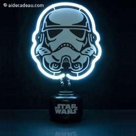 Lampe Néon Blanc Stormtrooper Star Wars