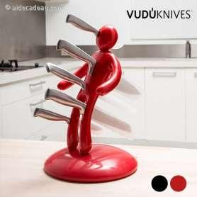 Porte-couteaux poupée vaudou