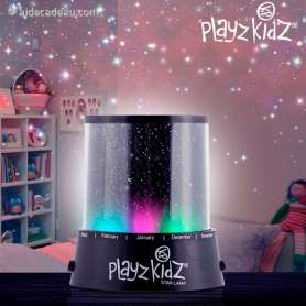 Veilleuse LED Projection de Ciel Étoilé Playz Kidz