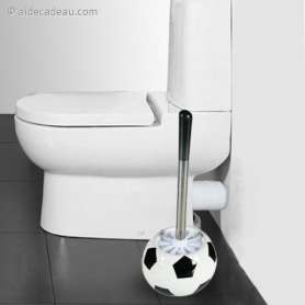 Brosse WC Ballon Football
