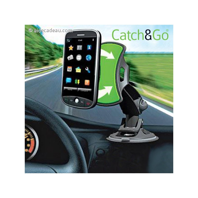 support universel pour voiture catch go smartphone ou gps. Black Bedroom Furniture Sets. Home Design Ideas