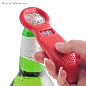 Ouvre-bouteille avec compteur digital