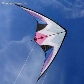 Cerf-volant acrobatique an toile de nylon Delta