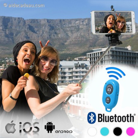 Canne télécommandée pour selfie avec Bluetooth