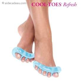 Séparateurs d'orteils vernis à ongles et pour massage des pieds