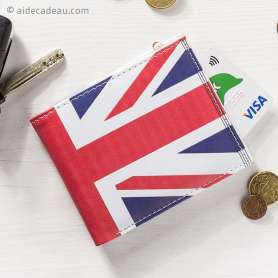 Portefeuille drapeau du Royaume Uni