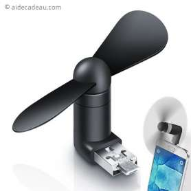 Ventilateur USB et micro USB smartphone
