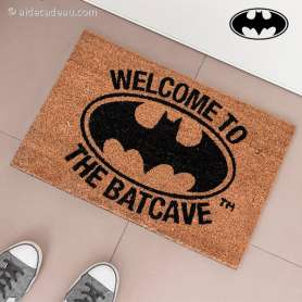"Tapis d'entrée paillasson ""Welcome to the Batcav"" Batman"