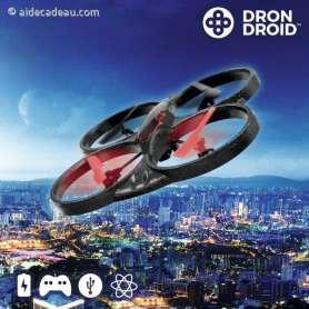 Drone Droid McClane RCV4000 avec LED