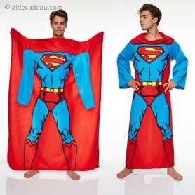 Couverture Polaire Superman à Manches longues