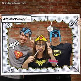 Kit Photobooth Super-Héros DC Comics