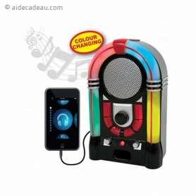 Enceinte audio jukebox aux effets lumineux