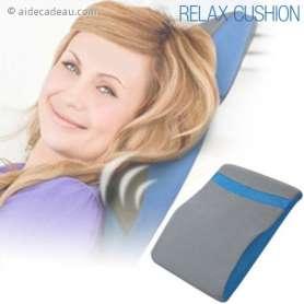 Oreiller masseur à 2 vitesses de vibrations