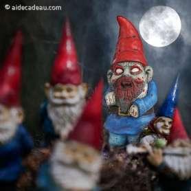 Nain de jardin zombie gnome