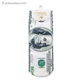 Chaussettes au motif de Dollars