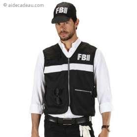 Costume agent du FBI et accessoires