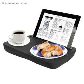Plateau de service et support pour tablette