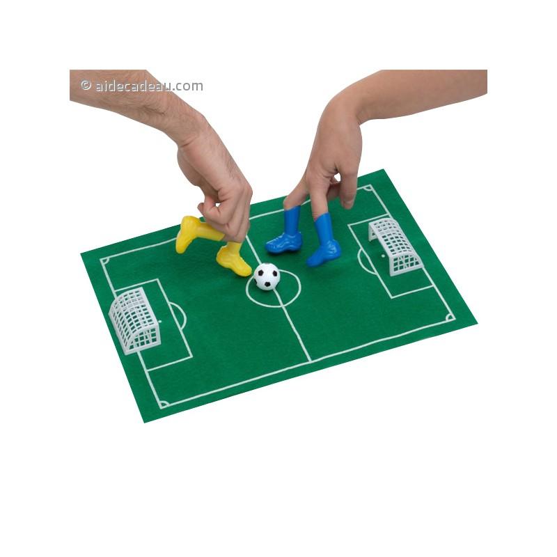 kit de jeu de football pour les doigts. Black Bedroom Furniture Sets. Home Design Ideas