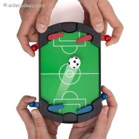 Console de football sous forme de Flipper