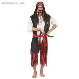 Costume de chef des pirates pour homme