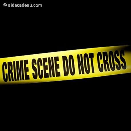 Ruban Scène de Crime farce et attrapes