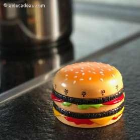 Minuteur de cuisine en forme de Hamburger