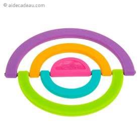 Dessous de plat modulable en silicone coloré