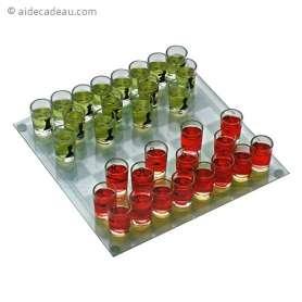 Jeu d'échec à pions verres à shots jeu à boire