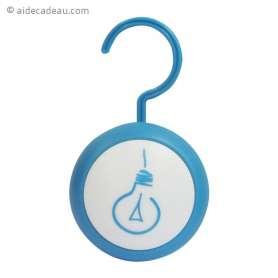 Lampe transportable de poche à crochet