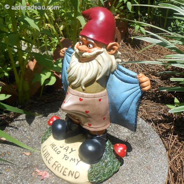 Nain de jardin coquin - AideCadeau.com
