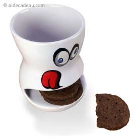 Tasse gourmande avec range-biscuits