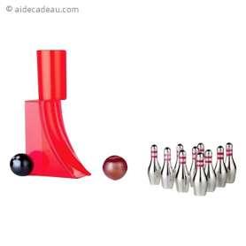 Jeu de bowling miniature