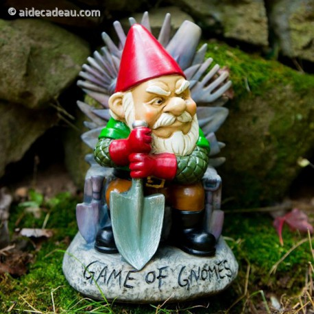 Nain de Jardin Game of Gnomes en résine (game of throne)