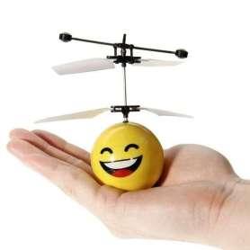Hélicoptère émoticône contrôlé par la main