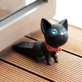 Bloque-porte chat avec collier à grelot