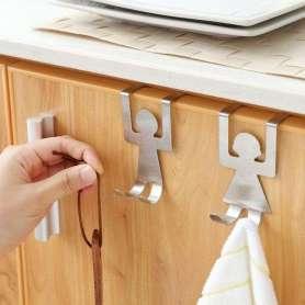 Crochets de cuisine homme et femme