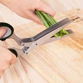 Ciseaux de cuisine à 5 paires lames