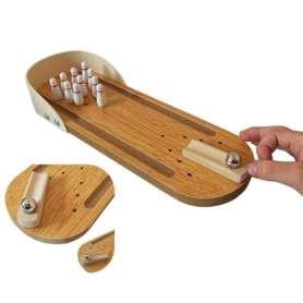 Bowling miniature en bois