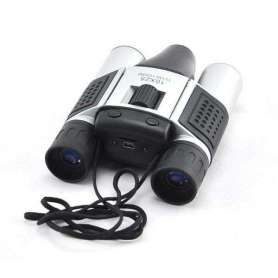 Jumelles x 10 à caméra espion 480P