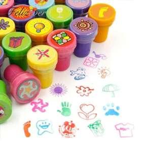 Tampons colorés auto-encreurs