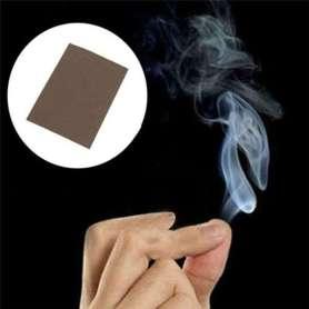 Papier pour tour de magie fumée