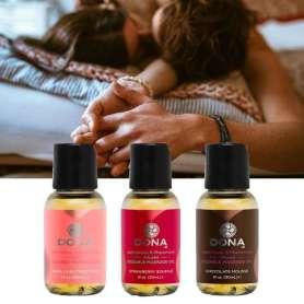 Huiles de massage parfumées (3 bouteilles)
