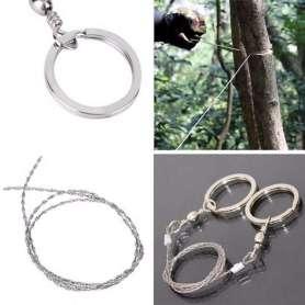 Scie à fil avec 2 anneaux