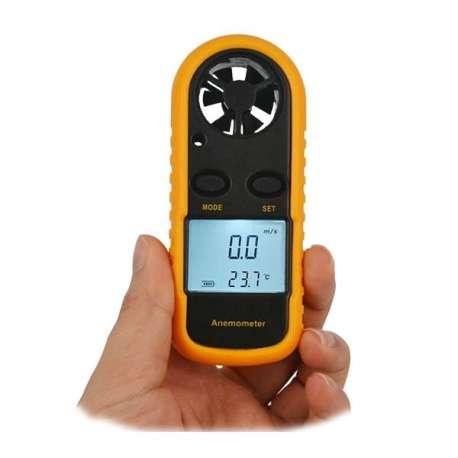 Thermomètre et anémomètre digital