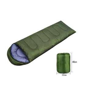 Sac de couchage avec capuche avec sac de rangement
